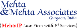 Mehta and Mehta Associates, IP Law firms, Patent Law firms, Law firms in Gurgaon